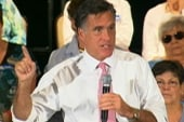 Romney touts electability over Perry