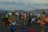 Confusion, panic at plane crash scene