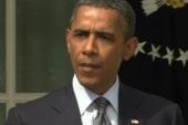 Ed says President Obama threw a brick...