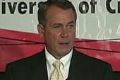 Boehner compares government to cocaine...