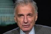 Nader talks pushing liberal agenda