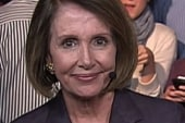 Nancy Pelosi on the hard fought victory...