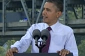 Obama places emphasis on infrastructure...