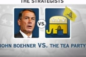 Tea Party bullies Boehner