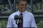 Obama in comfort zone with populist message