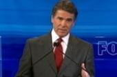 Perry flounders in GOP debate