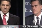 Can Perry compete financially with Romney?