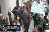 Wall Street protesters hitting critical mass
