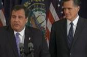 Chris Christie backs Mitt Romney for...