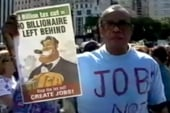 OWS protesters' Millionaires March