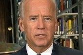 Biden not pleased about jobs bill defeat