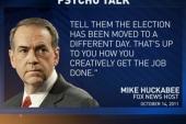 Huckabee jokes about voter suppression