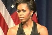 Michelle Obama hits campaign trail