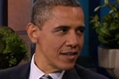 Obama visits Leno