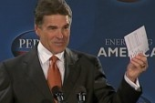Perry likes flat taxes and birther talk