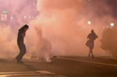 Police use teargas in Oakland