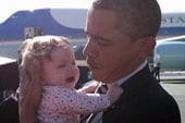 Obama the baby whisperer?