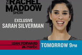 Sarah Silverman on TRMS Friday