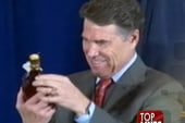 Gov. Rick Perry's 'maple syrup surprise'...
