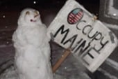 Protesters fired up to 'Occupy Winter'