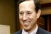 Sen. Santorum talks 2012