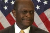 Cain's lashes out at 'Democrat machine'