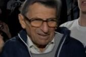 Penn State coach Joe Paterno fired