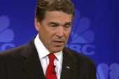 Perry suffers 'brain freeze' during debate