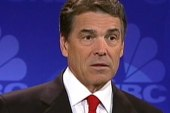 Perry takes a lengthy pause during debate