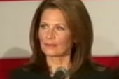 Protesters 'Occupy' Bachmann event