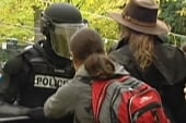 Arrests mar weekend 'Occupy' protests