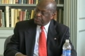 Cain stumbles on basic foreign policy...