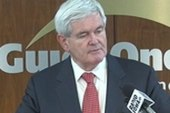 Gingrich takes turn as favored non-Mitt...