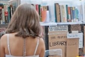 'Occupy Wall Street' library shows spine