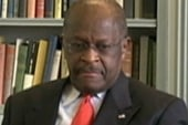 Cain struggles with foreign policy question