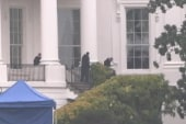 Suspected White House shooter detained