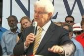 Gingrich tops polls