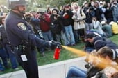 Pepper-sprayed student: We were peaceful