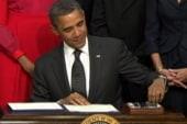 Congratulations! Veteran jobs law signed