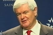 Newt Gingrich is high in the polls, low in...