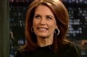 Bachmann hits the late night circuit