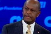 Cain gets tongue-tied during debate