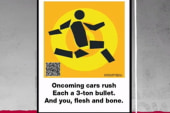 New York City posts haiku safety signs