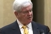 Gingrich jabs rival Romney