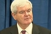 Gingrich rises, Romney falls