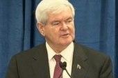 Gingrich takes on GOP frontrunner status