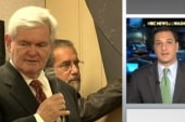 Gingrich continues to rise
