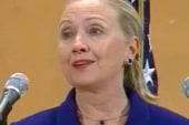 For Sec. of State Clinton, risk vs. reward...