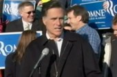 Romney rallies support for Iowa caucuses