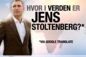 Where in the world is Jens Stoltenberg?